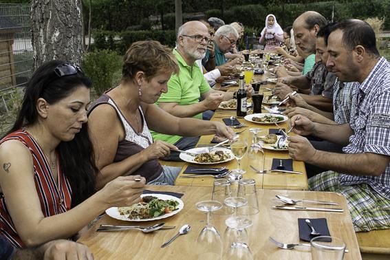 """Dritte Folge """"Kochen mit Flüchtlingen"""" im Wasserwerk:"""